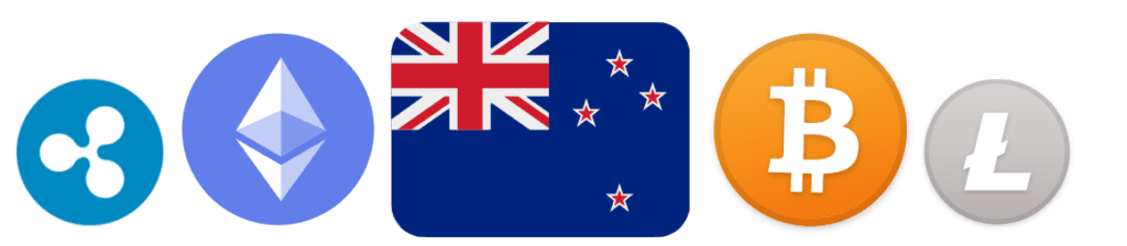Cryptocurrencies New Zealand banner