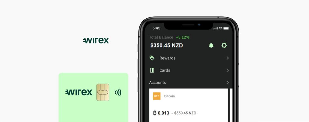 Wirex Crypto Card NZ