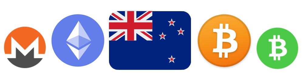 Bitcoin Ethereum Monero Buy Sell NZ Market Place