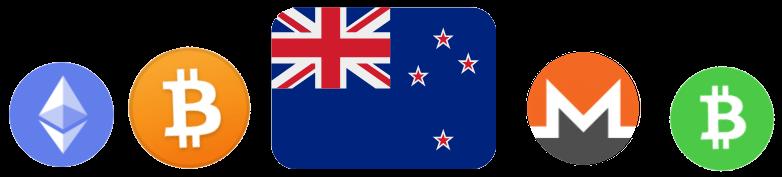 Bitcoin Ethereum Monero Bitcoin Cash New Zealand NZ